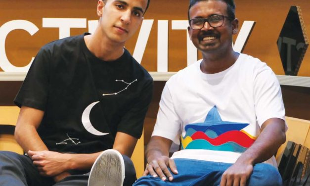 T-shirts created to share refugees' stories