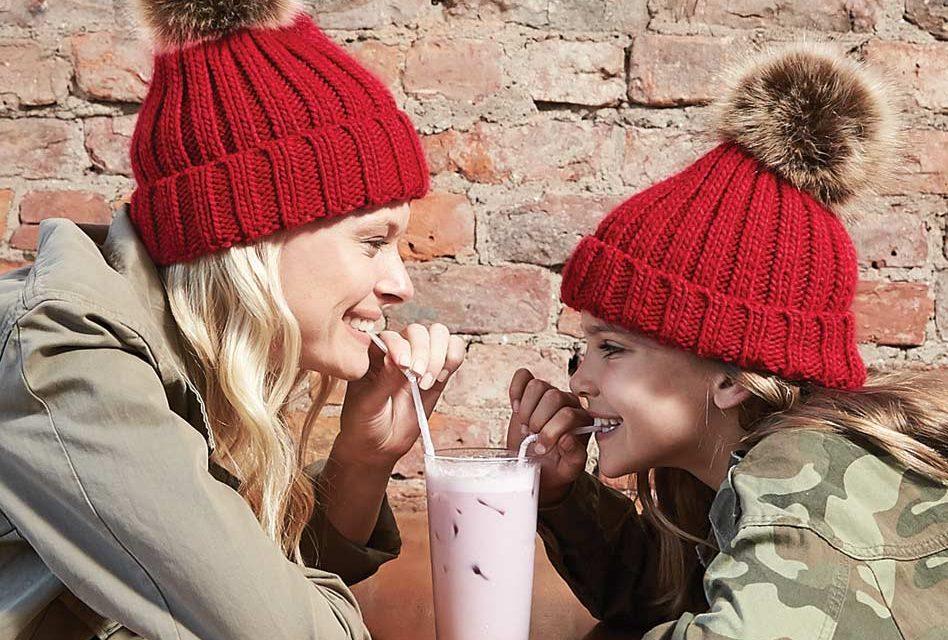Hawiton Girls Boys Warm Knitted Beanie Hat Baby Winter Wool Caps