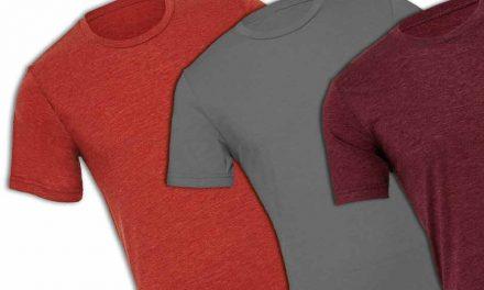 Terror-free tri-blend T-shirt prints