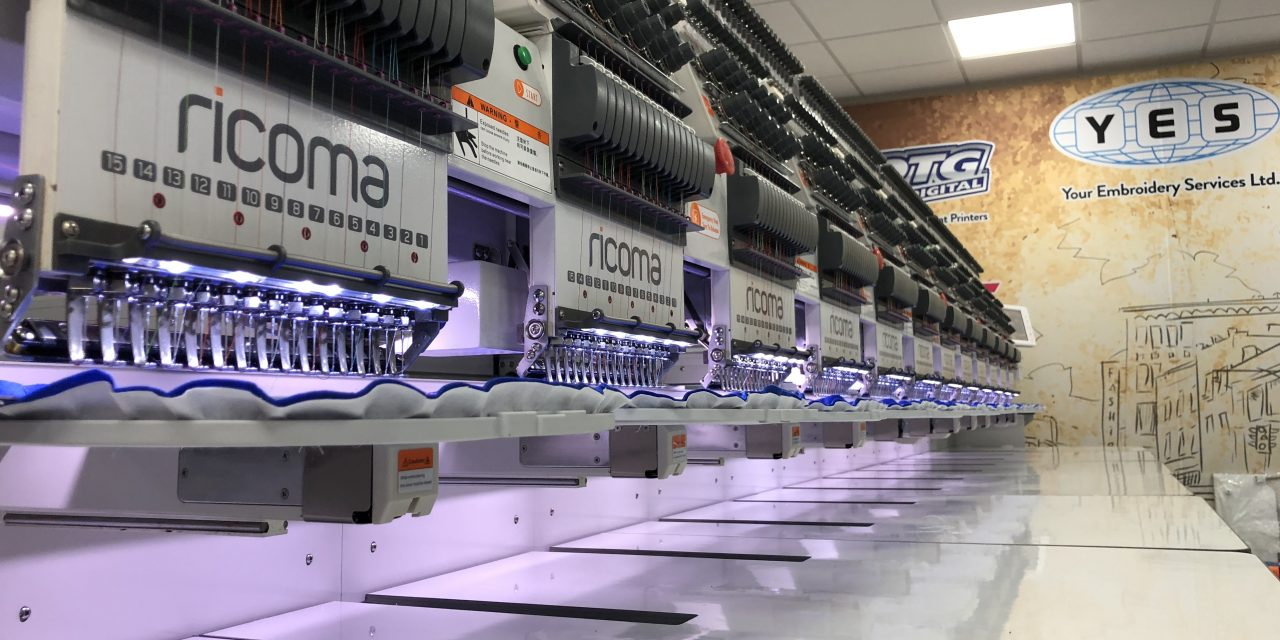 YES introduces the Ricoma CHT2 multi-head series
