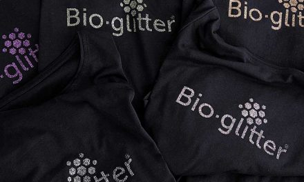 Ronald Britton creates biodegradable glitter for print