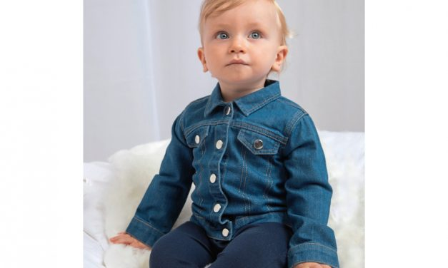 Baby Rocks Denim Jacket from Babybugz