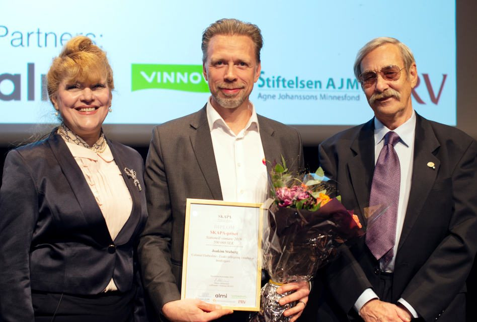 Joakim Staberg of Coloreel wins innovation award