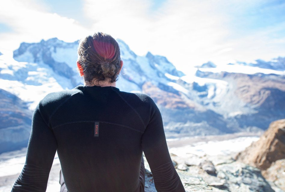 Skiin creates self-heating and wire-free wearable base layer