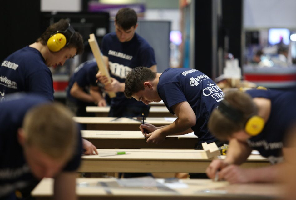 Dickies sponsors SkillBuild UK National Final