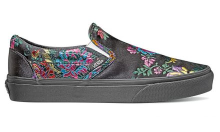 Vans festival satin classic slip-on shoes