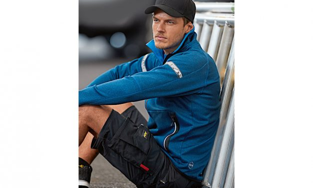 Snickers introduces FlexiWork Stretch Shorts for the summer