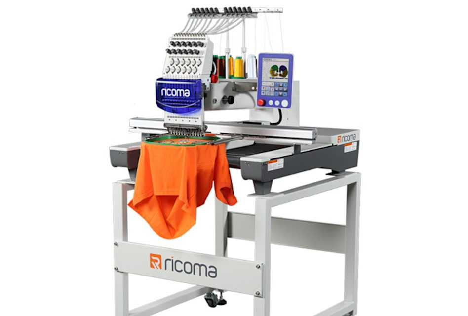 YES launches Ricoma SWD Series large embroidery single-head machine