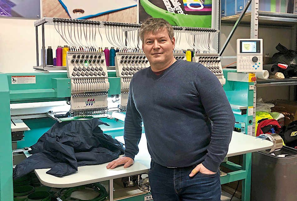 Telling it like it is: Embroidery Machines