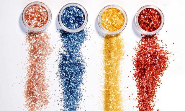 Ronald Britton launches 'world's first plastic-free glitter'