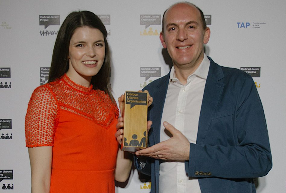 Beechfield wins Carbon Literacy Award