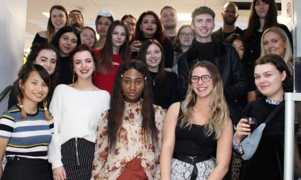 Derby fashion students collaborate on workwear with Dimensions