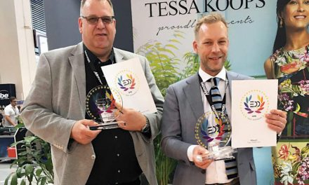 Mimaki Tiger-1800B MkII wins two EDP awards at Fespa 2019