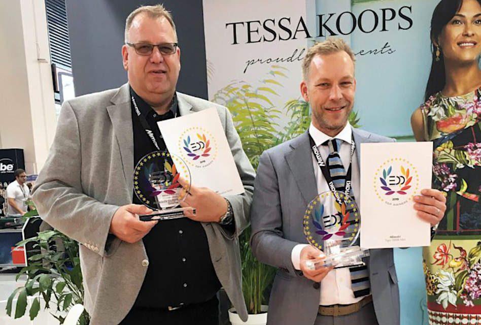 Mimaki Tiger-1800B MkII wins two EDP awards at Fespa 2019