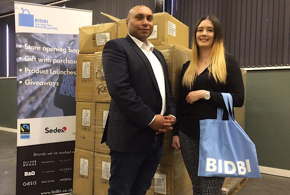 Sheffield tote bag manufacturer BIDBI expands premises