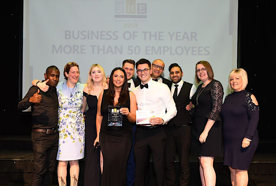 Essential win three awards at SME Luton & Bedfordshire Awards 2019