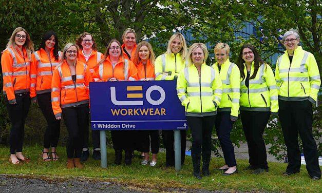 Leo Workwear introduces women's hi-vis sweatshirt