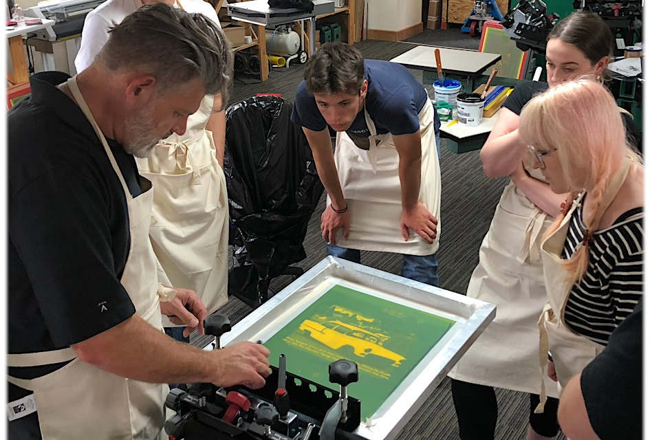 Dalesway Print Technology to hold workshops with 'master screen printer'