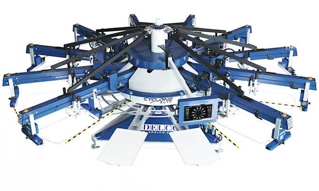 Adelco to launch new Cyclone automatic screen printing presses at Itma 2019