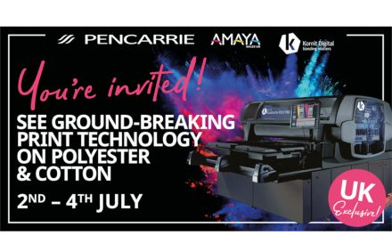 PenCarrie and Amaya to host showcase of Kornit Avalanche Poly Pro DTG printer