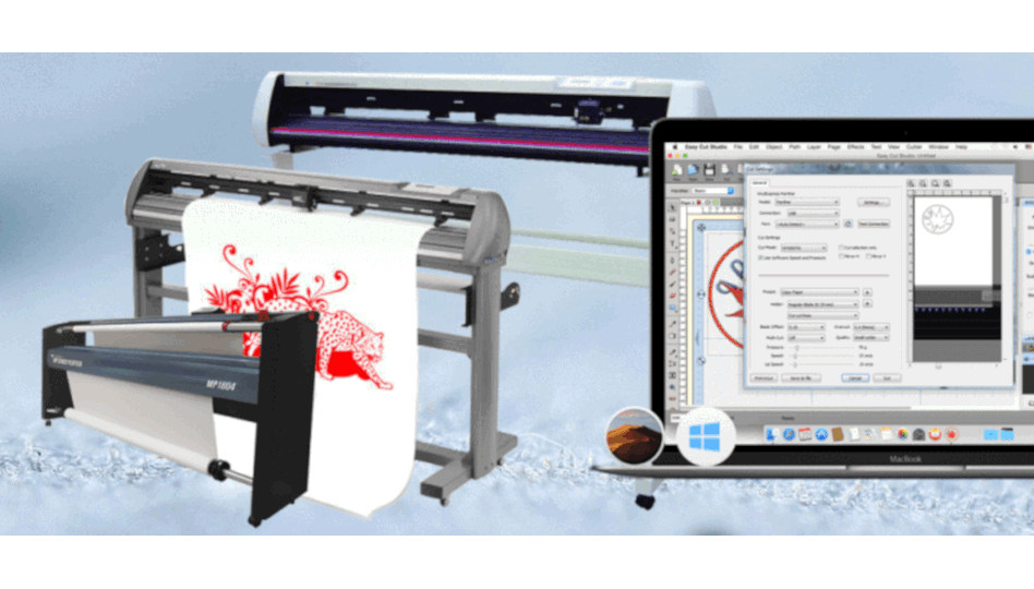 New EasyCut Studio 4.1.0.7 now supports over 500 cutter models