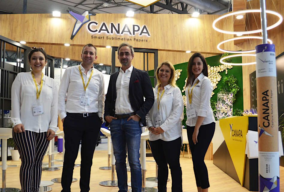 "Canapa exhibits ""smart sublimation papers"" at Itma"