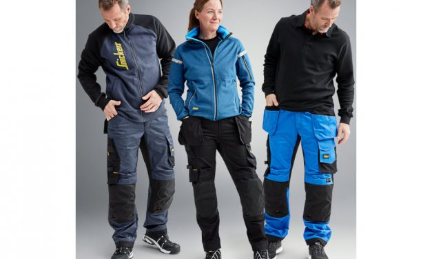 New loose-fit stretch trousers from Snickers