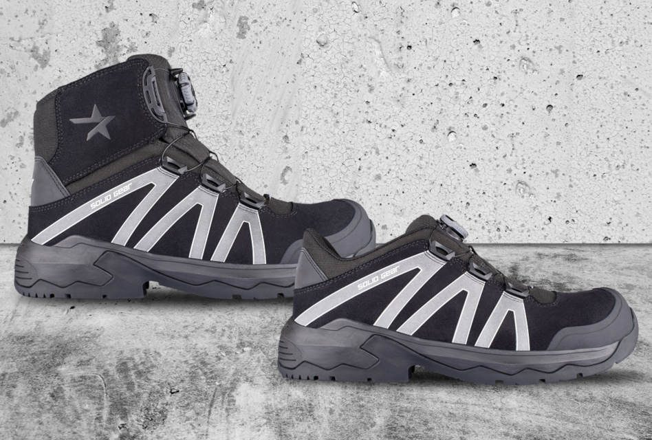 Solid Gear launches Onyx Safety Shoes and Boots