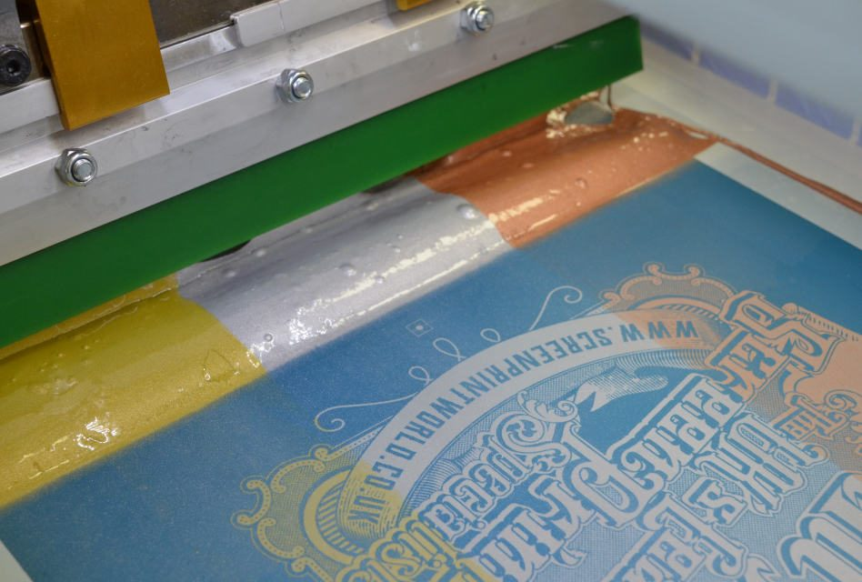 Screen Print World announced as UK distributor of ICC metallic Shimmer inks