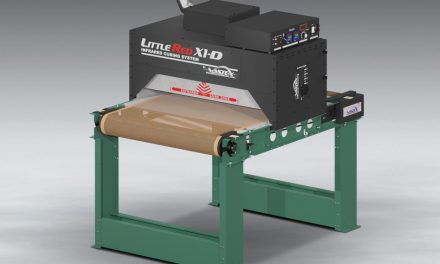 LittleRed X1D dryer now available with 76cm wide conveyor belt