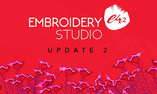 Wilcom launches updated EmbroideryStudio e4.2