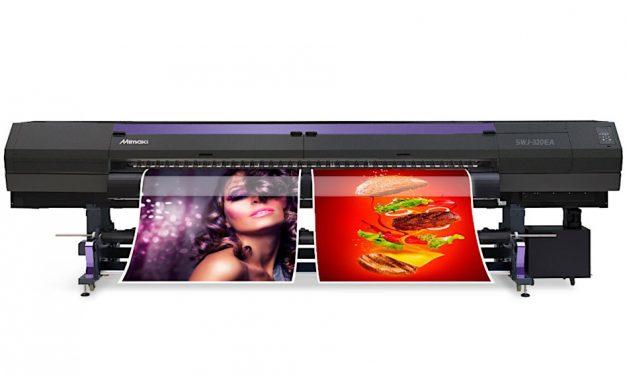 Hybrid to debut new Mimaki SWJ-320EA printer at The Print Show