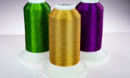 Madeira introduces new CR Metallic thread