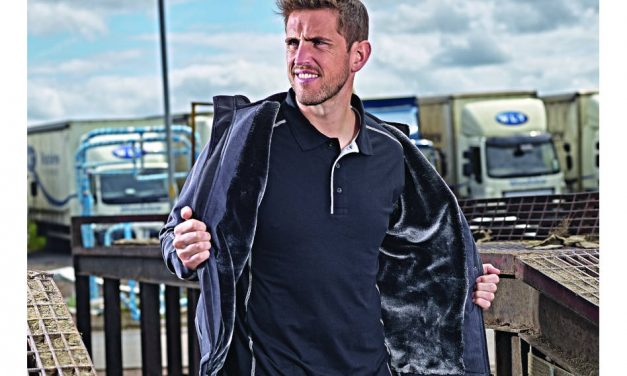 The Crane Fur-Lined Softshell Jacket from Orn