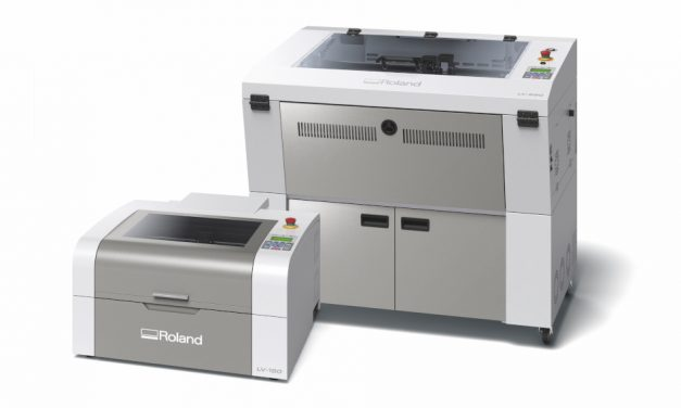 Roland DG launches new LV Series laser engravers in the EMEA