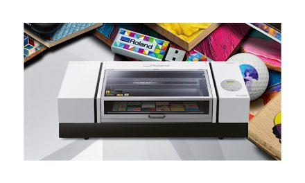 Roland DG launches new benchtop UV flatbed printer in the EMEA