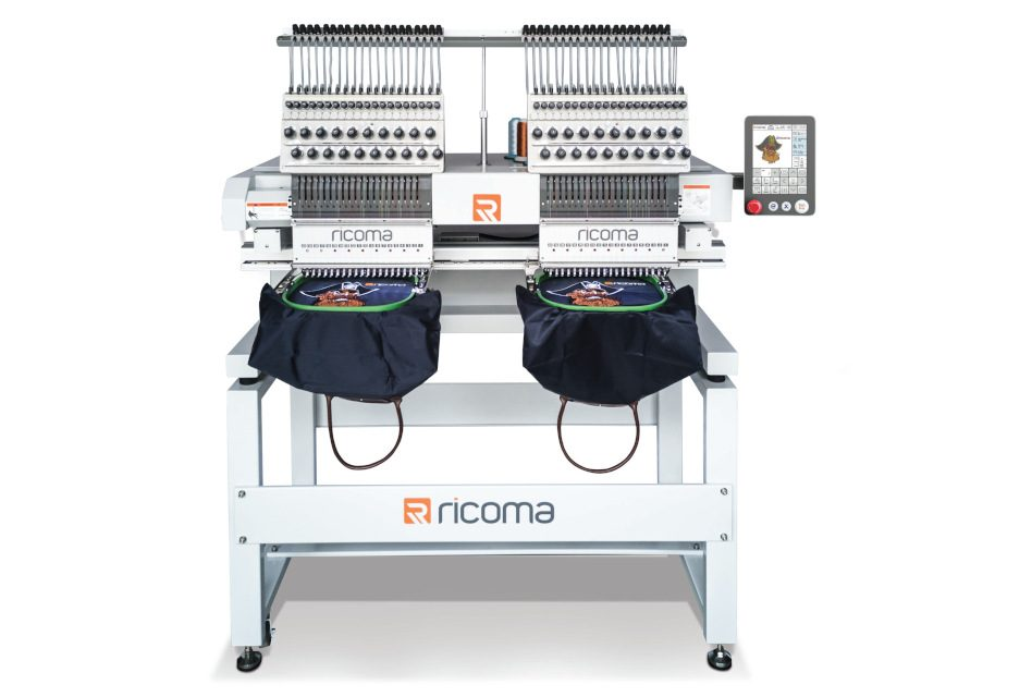 Ricoma releases 20-needle embroidery machines in the UK and Ireland