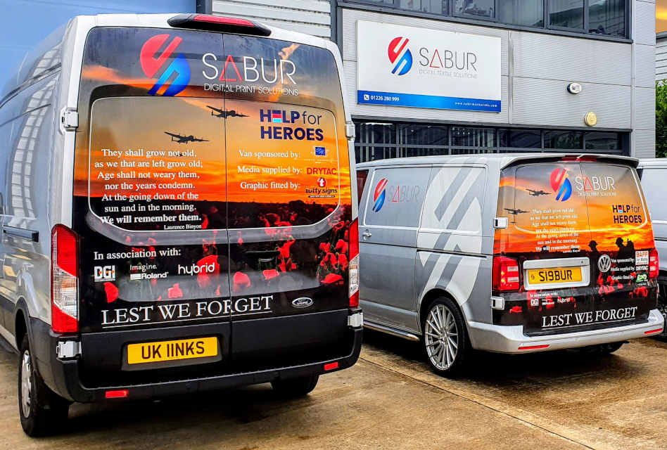 Sabur Digital helps raise £2,500 for Help for Heroes