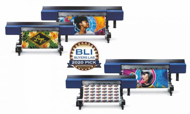 Roland DG's TrueVis series earns top honours at Buyers Lab 2020 Pick Awards
