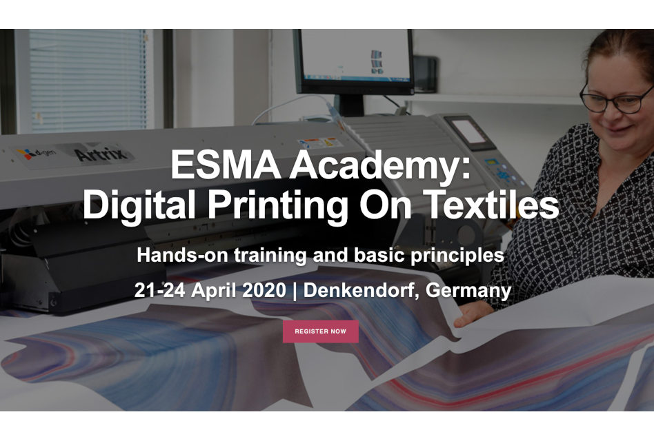 ESMA Academy and DITF to hold digital textile printing course in Germany
