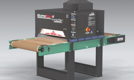 Vastex introduces dryer capable of curing plastisol and water-based inks