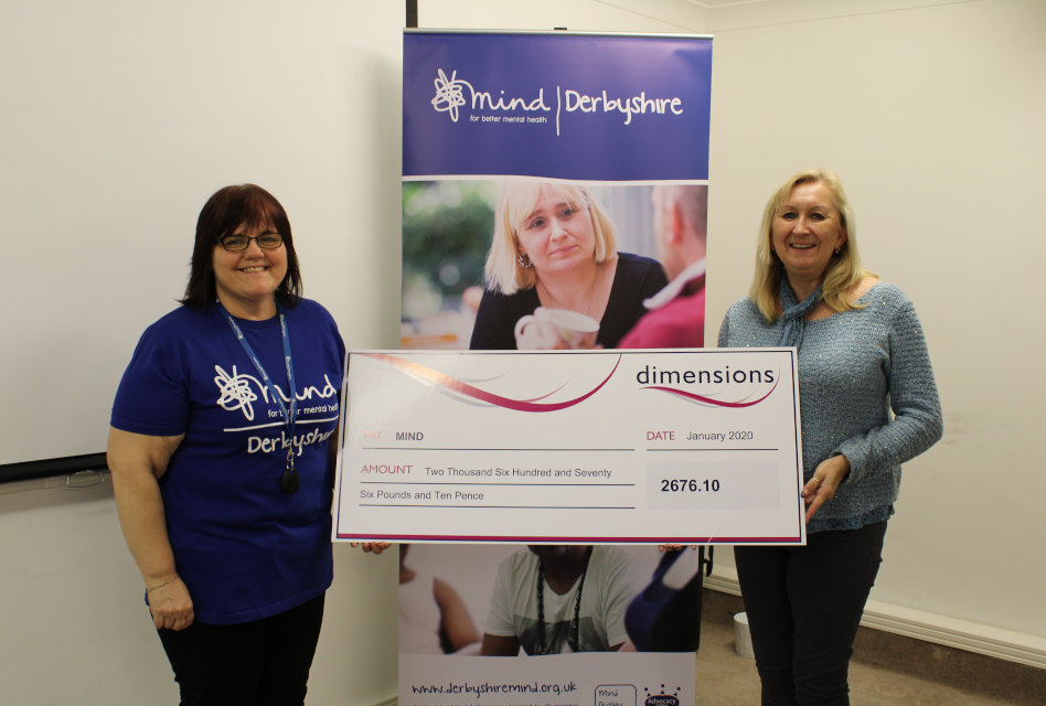 Dimensions raises £10,665 for charity in 2019