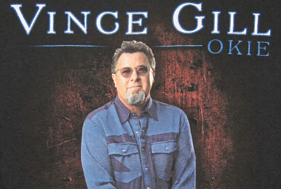 Anatomy of a print: Vince Gill T-shirt