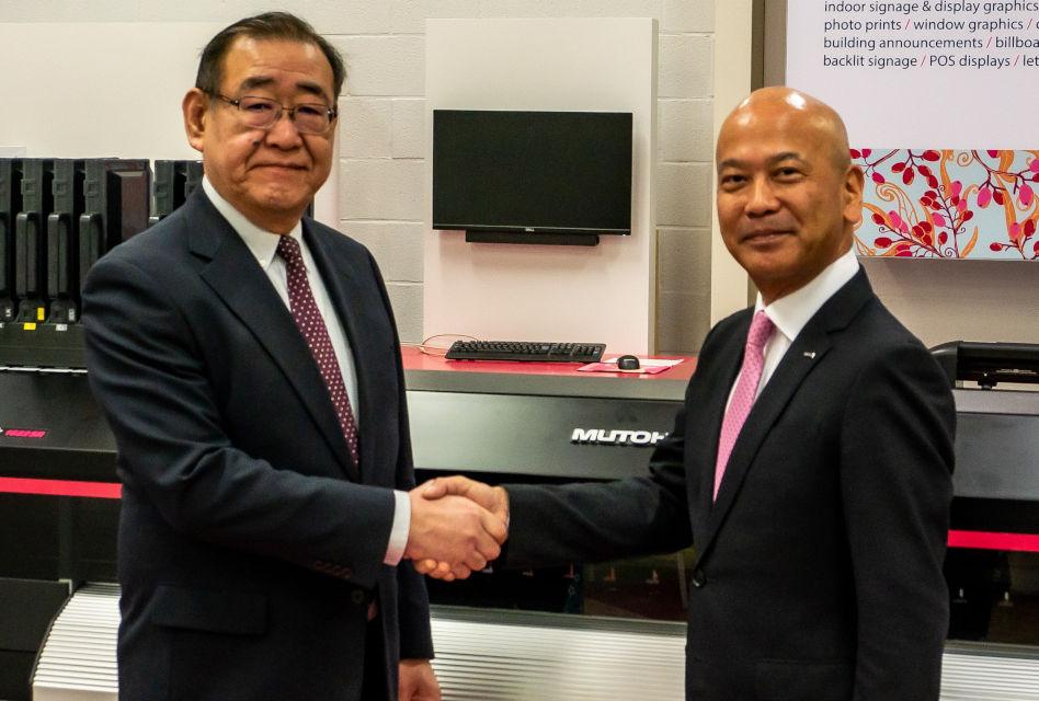 Changing faces: Kenji Yasuhara and Mitsuo Takatsu – Mutoh Europe