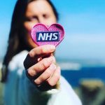 All Points West Embroidery creates fundraising NHS badges