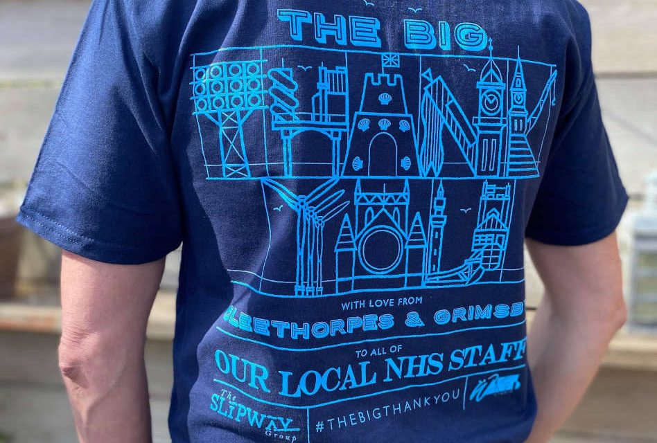 A Big Thank You: T-shirt collaboration supports NHS