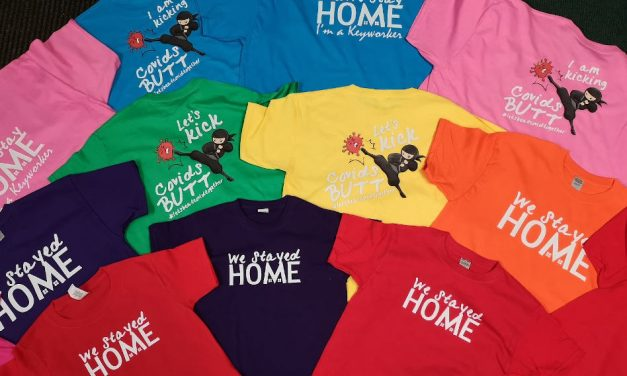 A little happiness: Big Boolies launches Rainbow T-shirt charity fundraiser