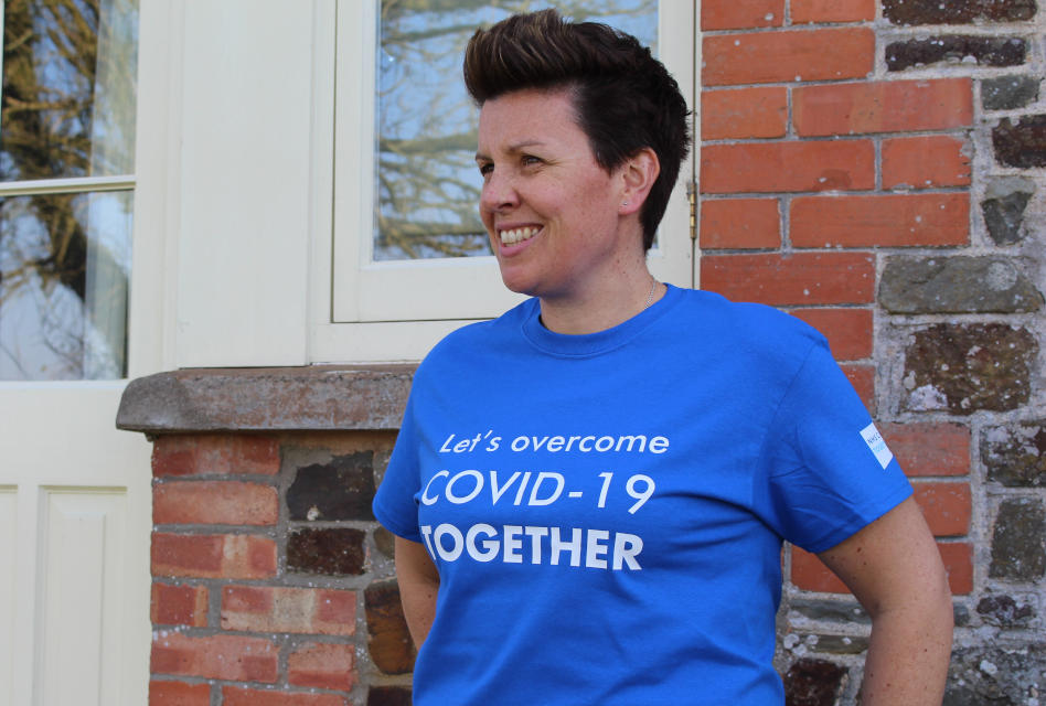 Working Together: Portlantis supports Covid-19 Urgent Appeal with charity garments