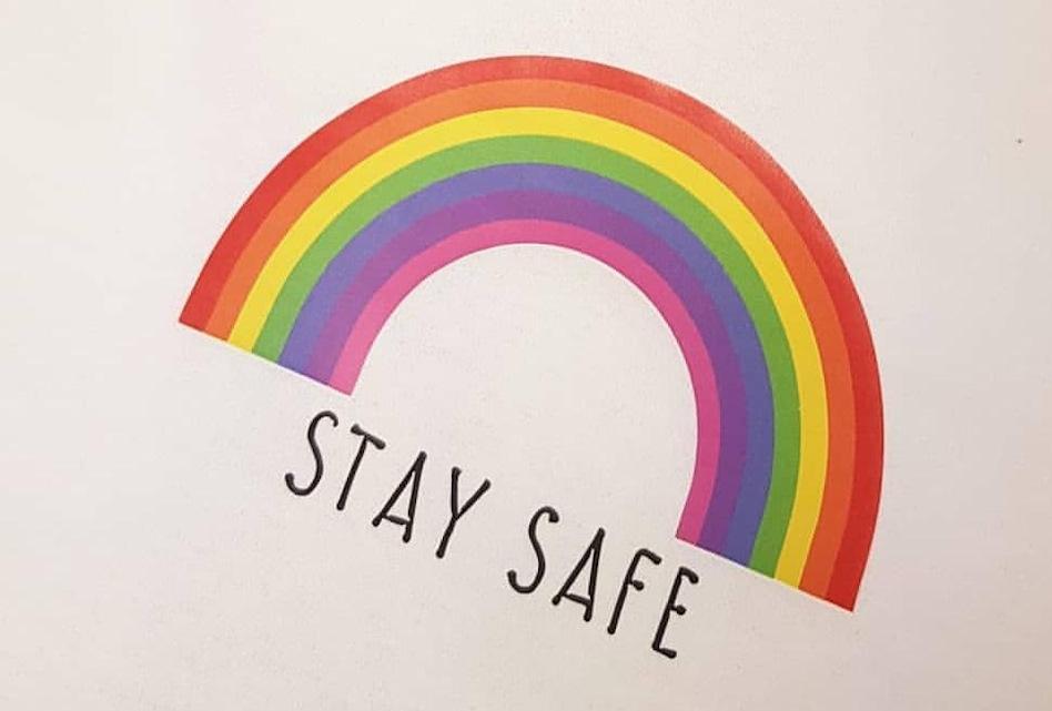 Stay Safe: Cr8tive Branding creates rainbow logo garments to raise money for NHS