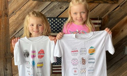 US company creates 'shirt kits' for kids to decorate at home